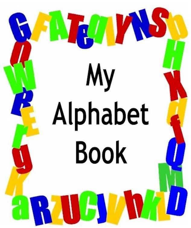 Free Alphabet Books Printable Cover Page