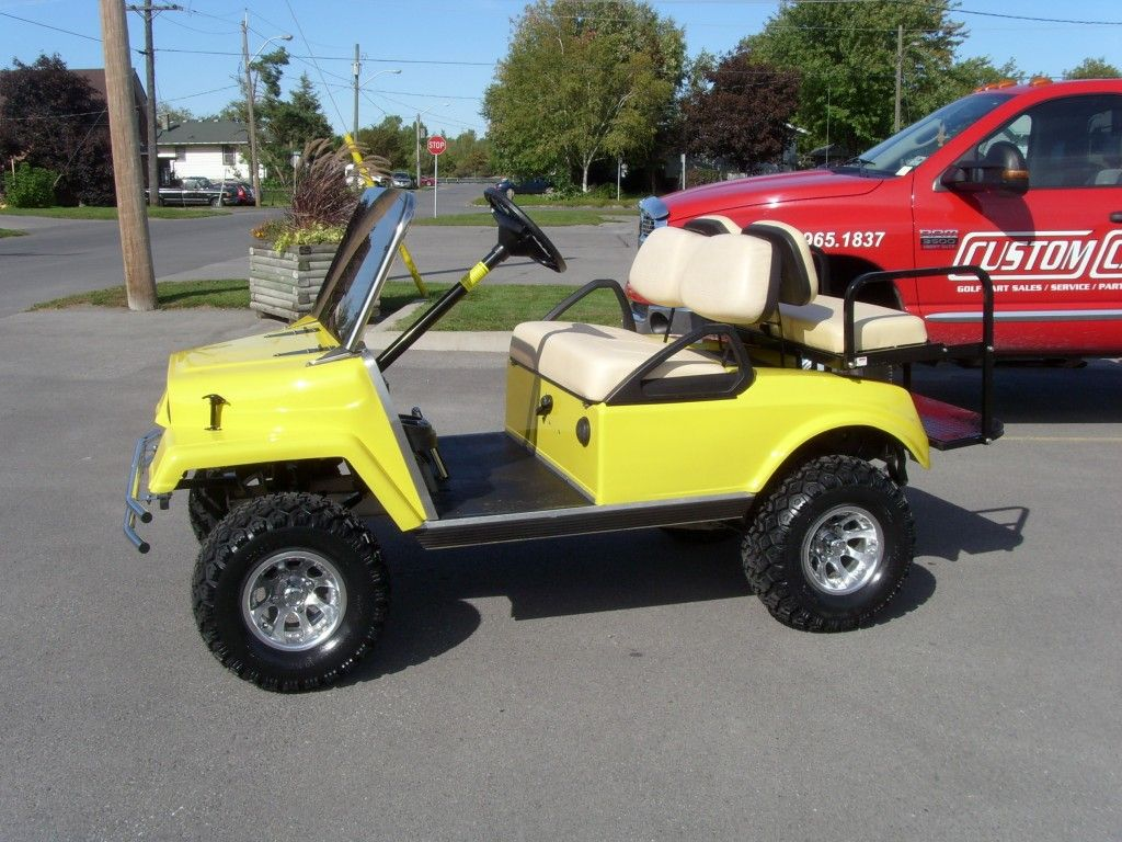 The Only Jeep Theme Golf Cart In Ontario Golf Carts Golf Cart