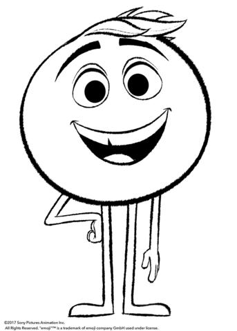 Gene From Emoji Movie Coloring Page Emoji Coloring Pages Emoji Movie Emoji Pictures