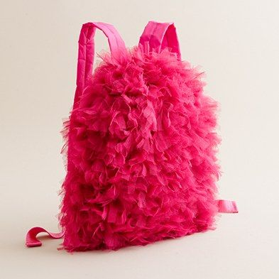 7c1400cba4 crewcuts tulle-around backpack. Girly Backpacks
