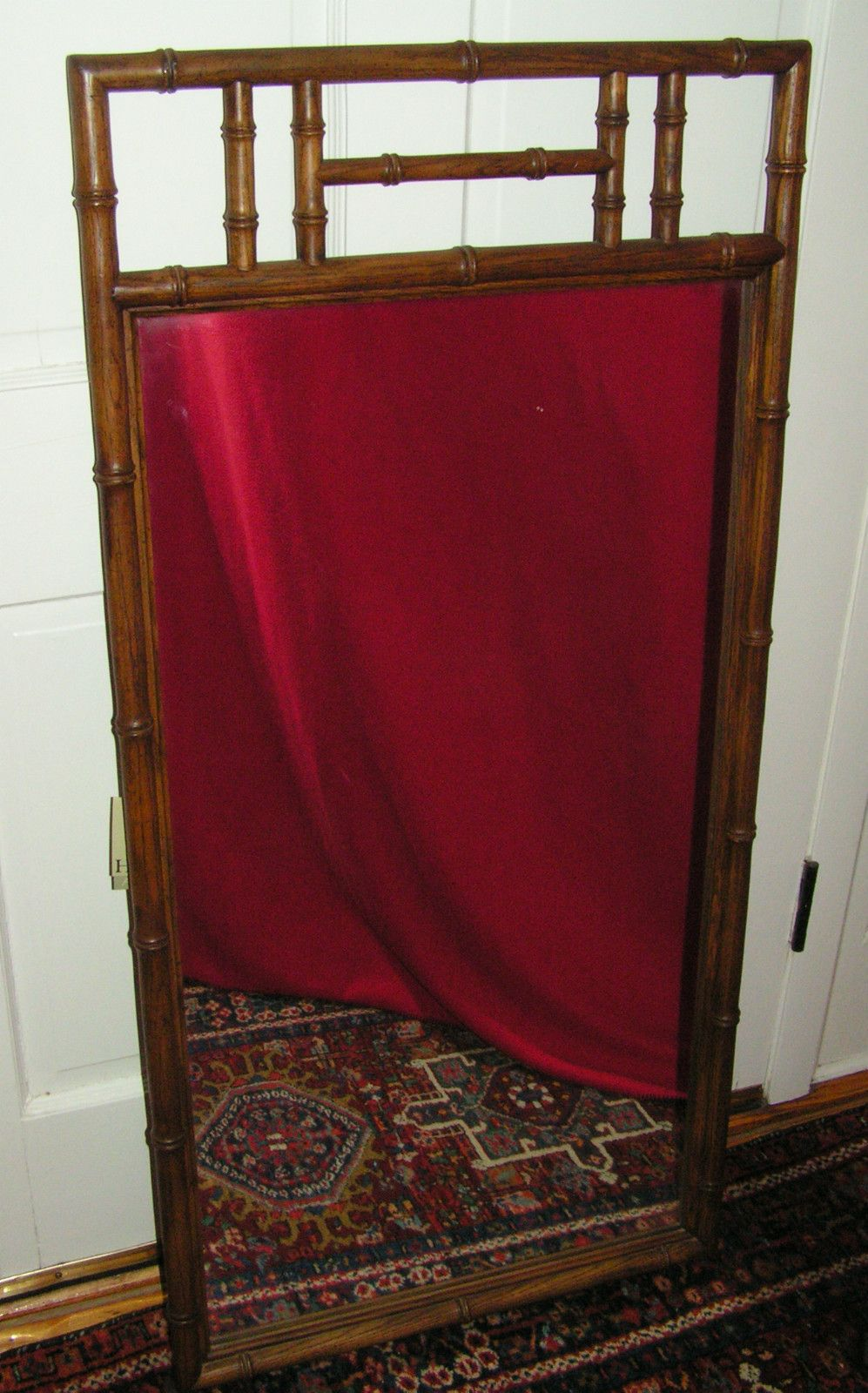 Henredon faux bamboo mirror found on ebay.