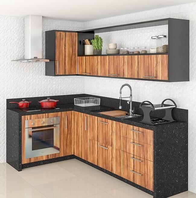 44 Cozinhas Planejadas Para Apartamentos Pequenos Cozinha