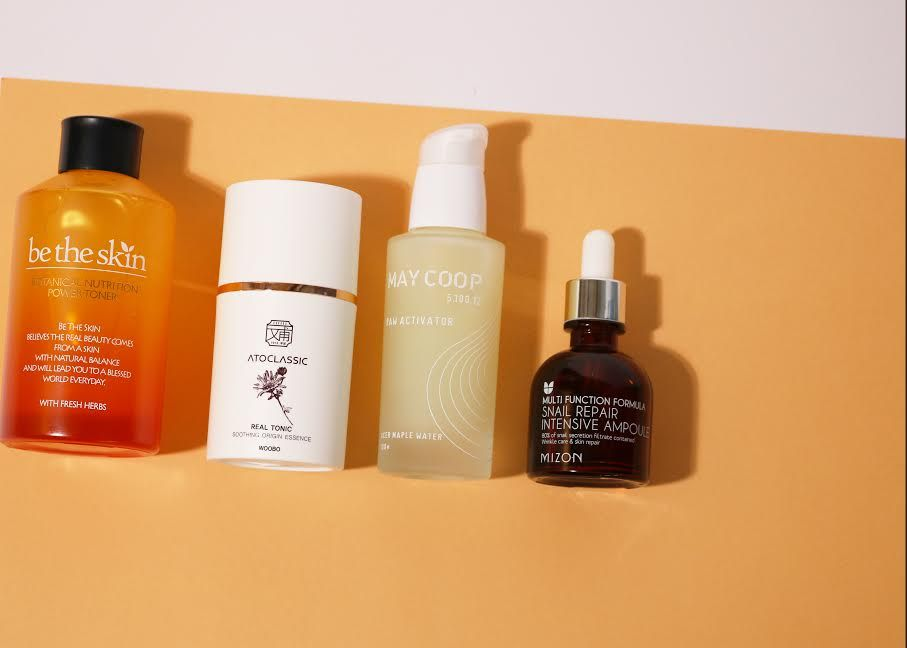 We Break Down The Difference Between Popular Kbeauty Treatments Like Toner Essence Serum And Ampoule Skin Toner Diy Toner Skin Care Secrets