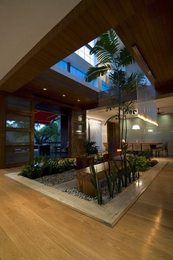 Courtyard designs for homes - Home design