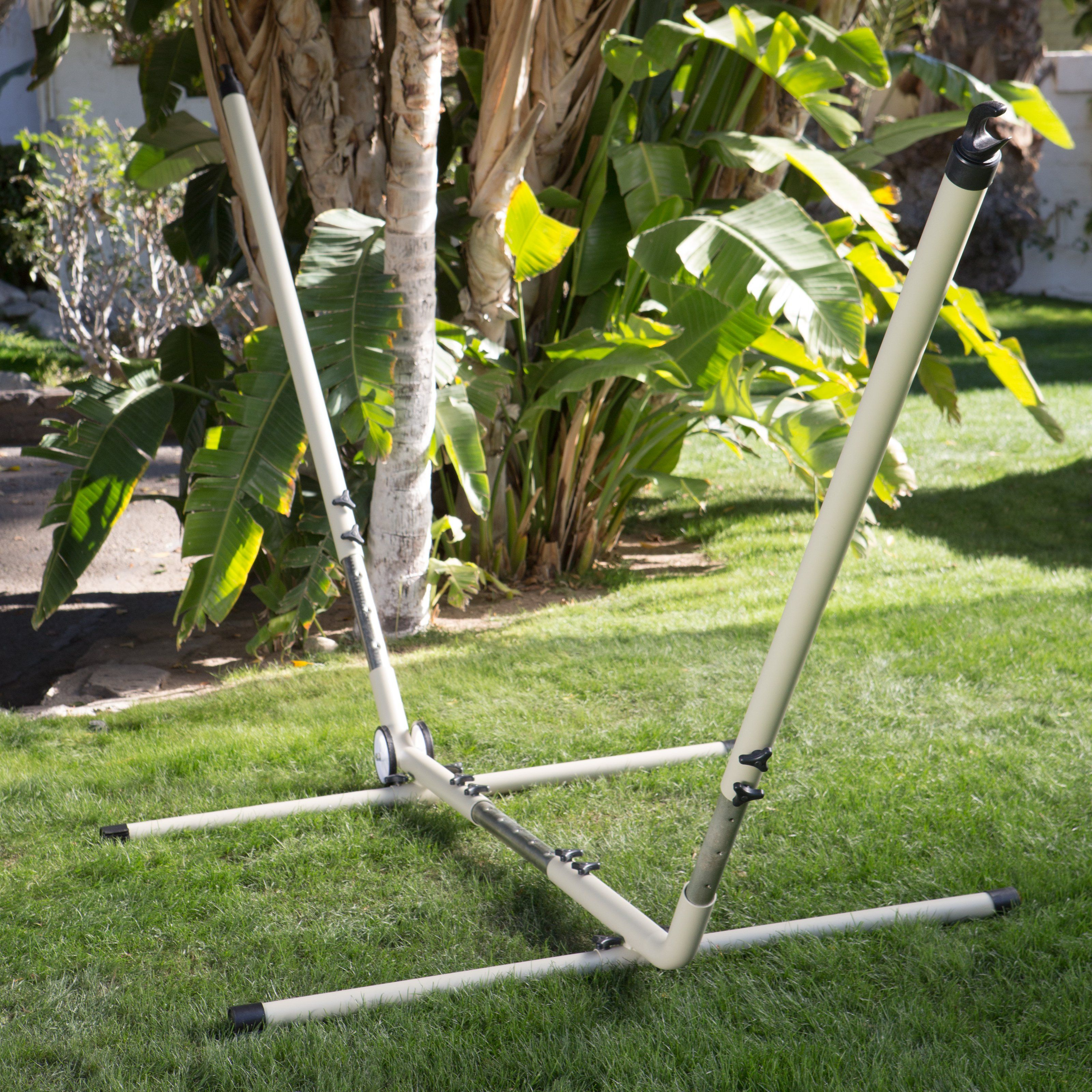 island bay adjustable hammock stand with wheels   14365 island bay adjustable hammock stand with wheels   14365   products      rh   pinterest