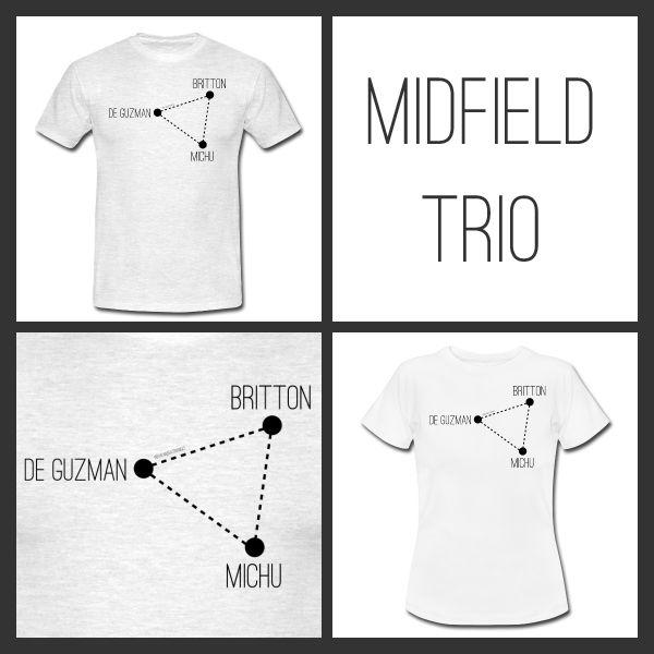 Midfield Trio £15.50