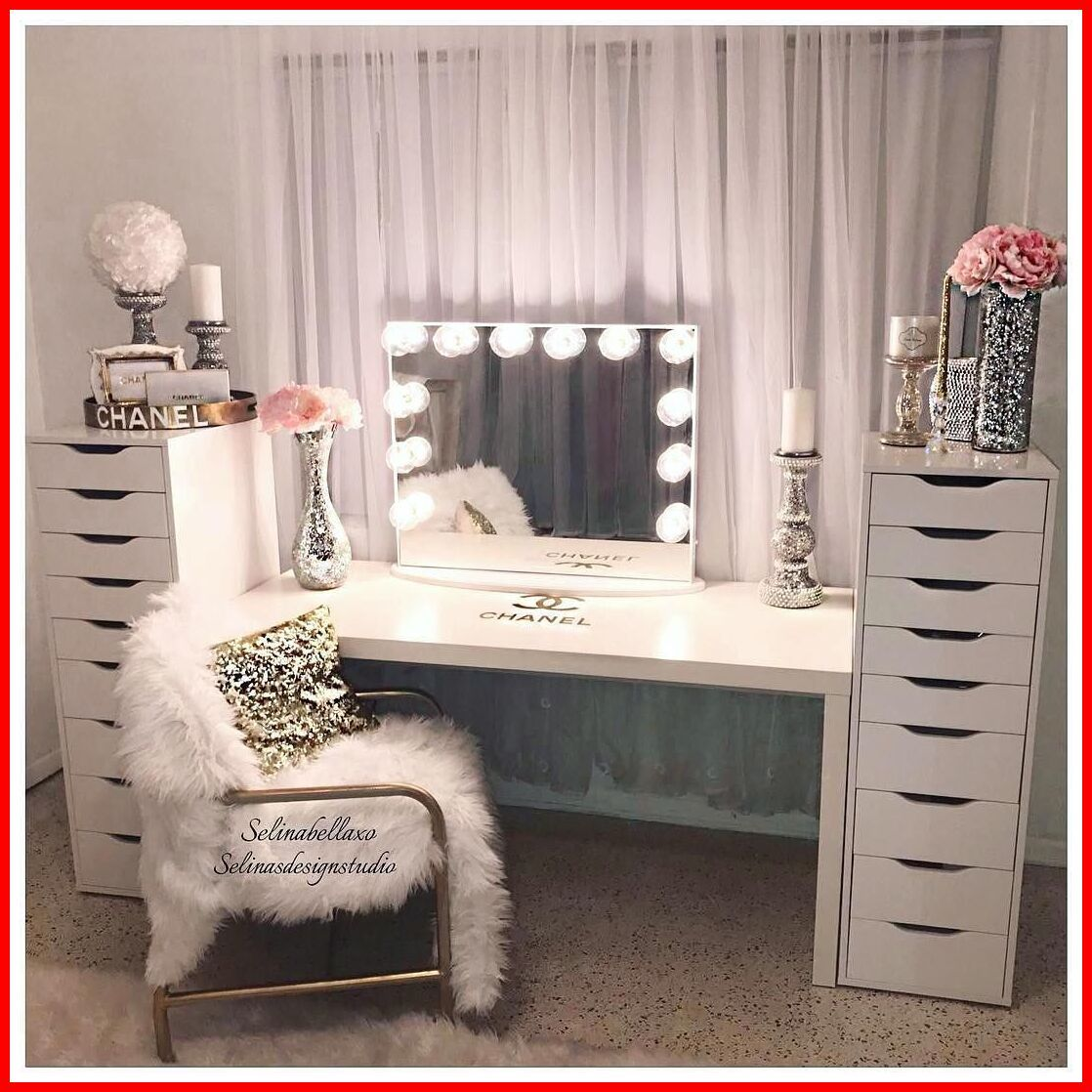 57 Reference Of Vanity With Lights Bedroom In 2020 Room Inspiration Glam Room Room Decor