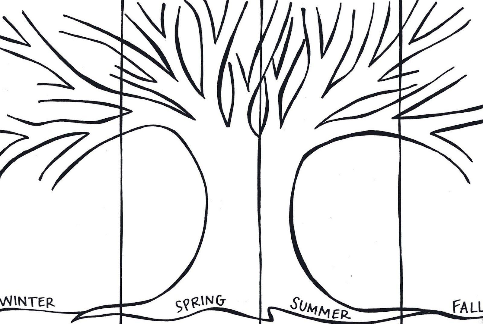 The Art Of Teaching A Kindergarten Blog Seasons Tree