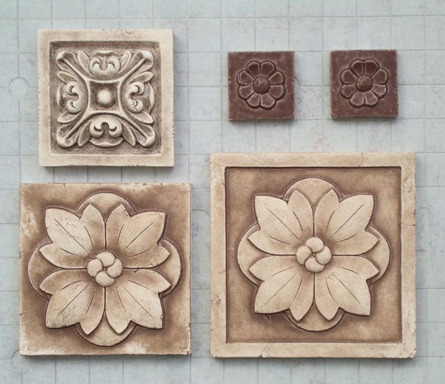 Backsplash Medallion Decorative Tile Inserts And High Relief Medallions For Your