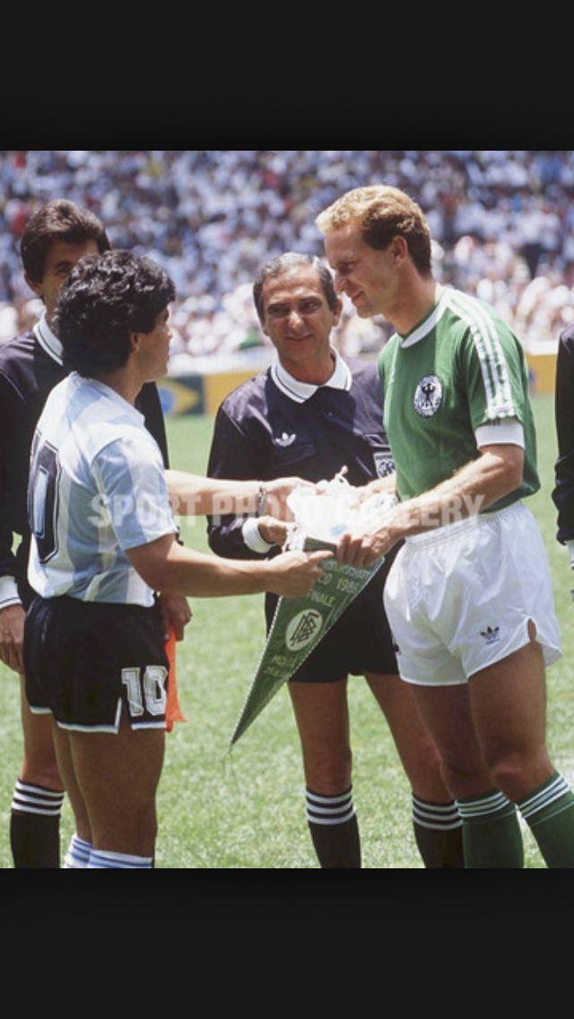 Maradona & Rummenigge