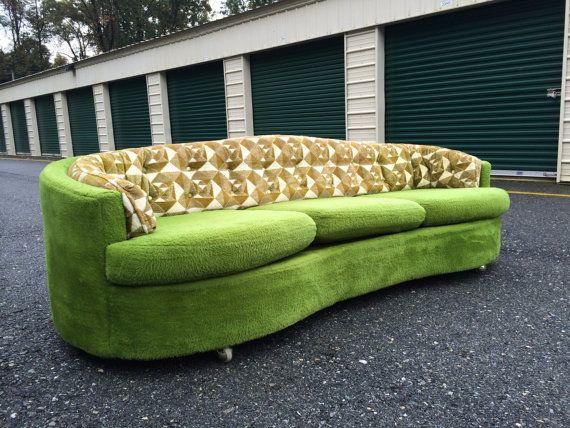 Mid Century Modern Sofa / milo baughmam / adrian by modernxvibes