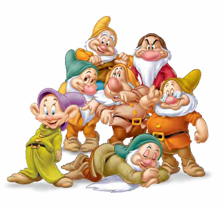 Sleepy Gallery Disney Character Sketches Snow White Disney Classic Cartoon Characters