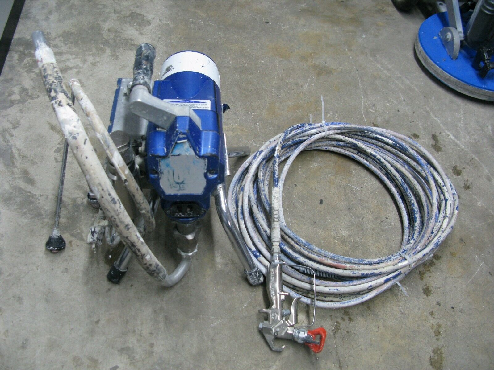 Details About Graco Ultimate Nova 395 Electric Airless Paint Sprayer 495 595 In 2020 Paint Sprayer Graco Sprayers