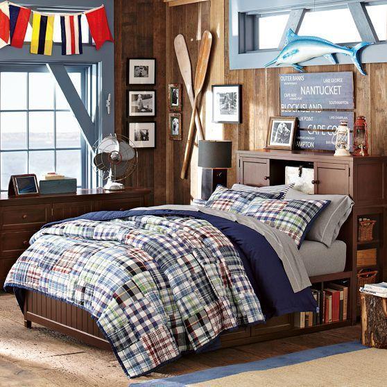 Kids Room Pattern Essentials Checks Decoracion Recamara