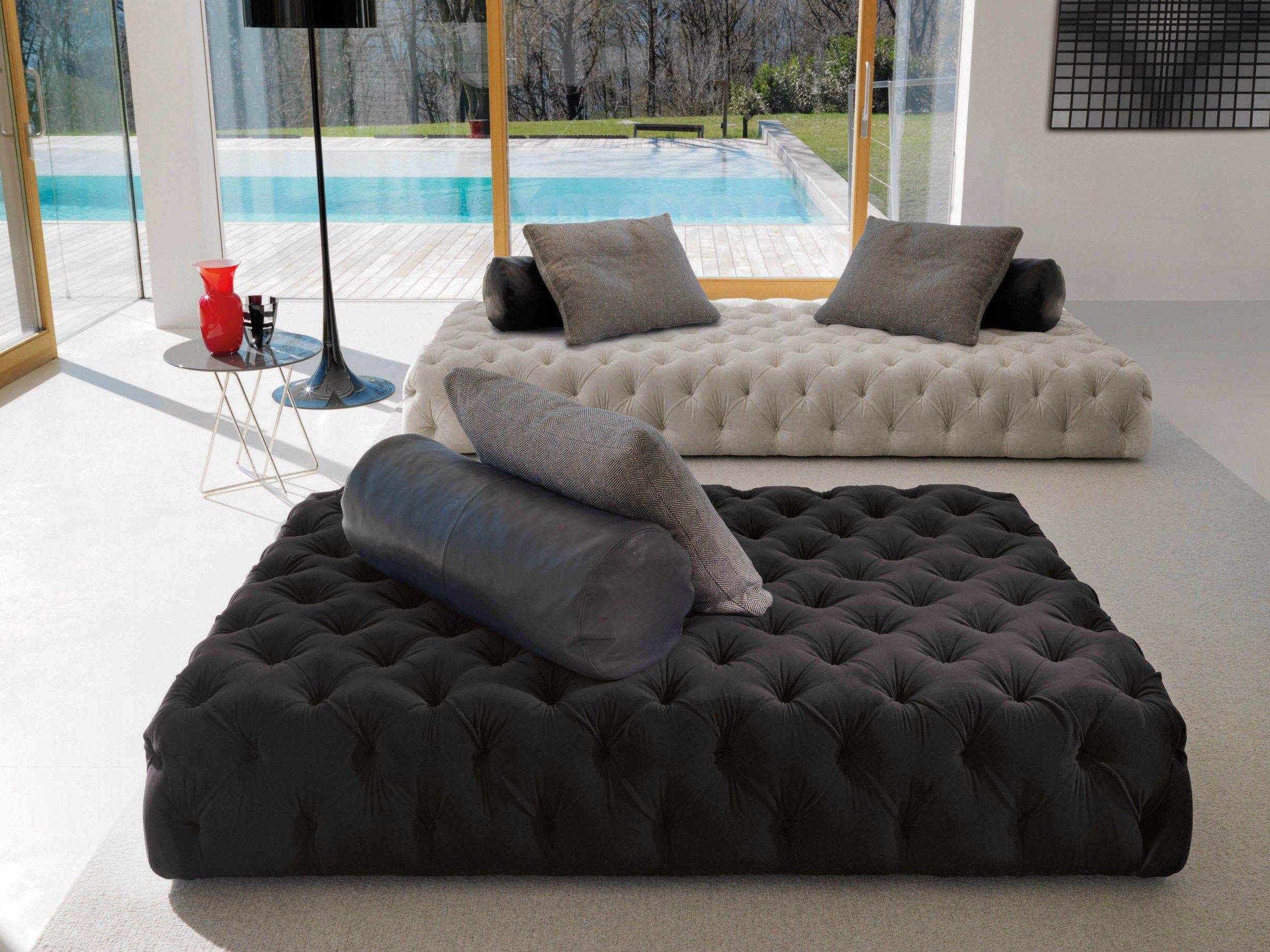 Dormeuse capitonné ROLLKING by Désirée Design divano