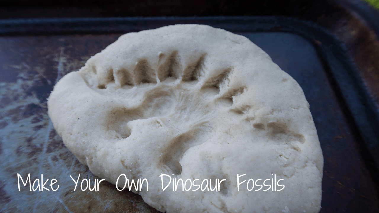 Make Your Own Dinosaur Fossils #dinosaurfossils