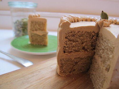Coffee Cardamom Cake + Coffee Buttercream | Recipe ...