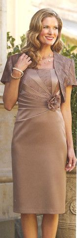 Dress and Jacket set 07 | Isabella Fashions | Mother of the bride dresses, plus sizes, and evening wear