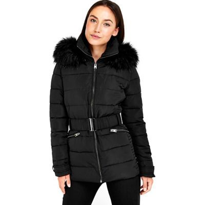 Wallis Short black padded jacket | Debenhams | Coats | Pinterest ...