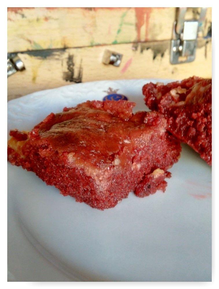 Brownie red velvet