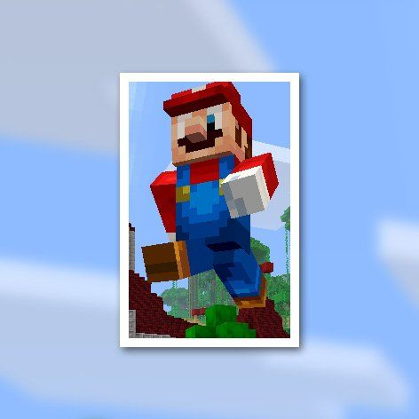 Super Mario Skins Minecraft Wii U Edition Play Nintendo - Minecraft hauser app