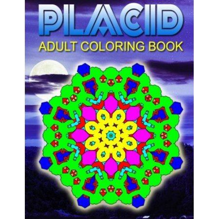 Placid Adult Coloring Books Volume 4 Best Sellers Stress Relief