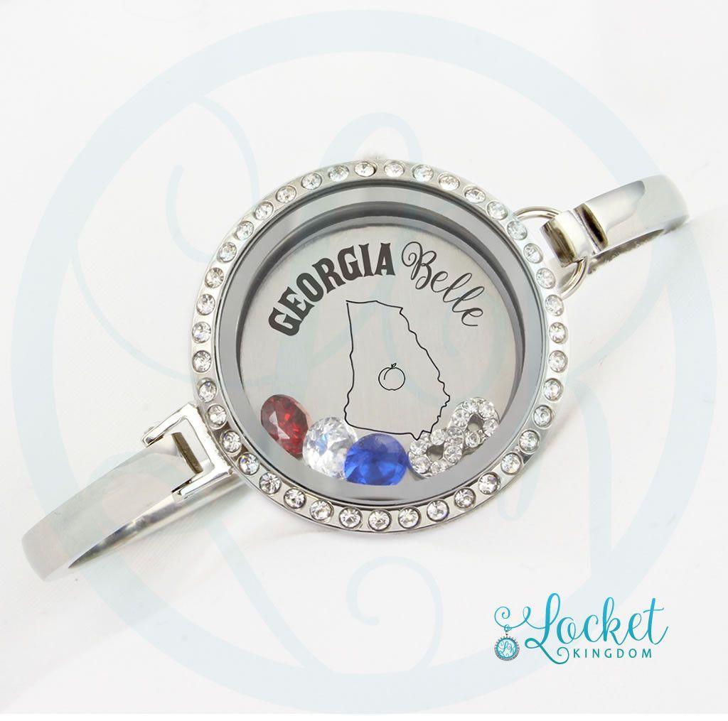 Georgia Belle Bangle Bracelet