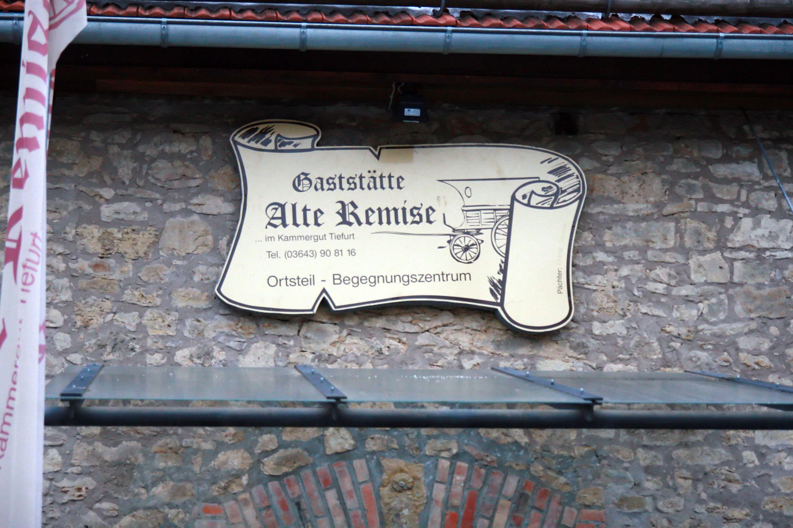 Alte Remise Tiefurt Weimar Remise Weimar Alter