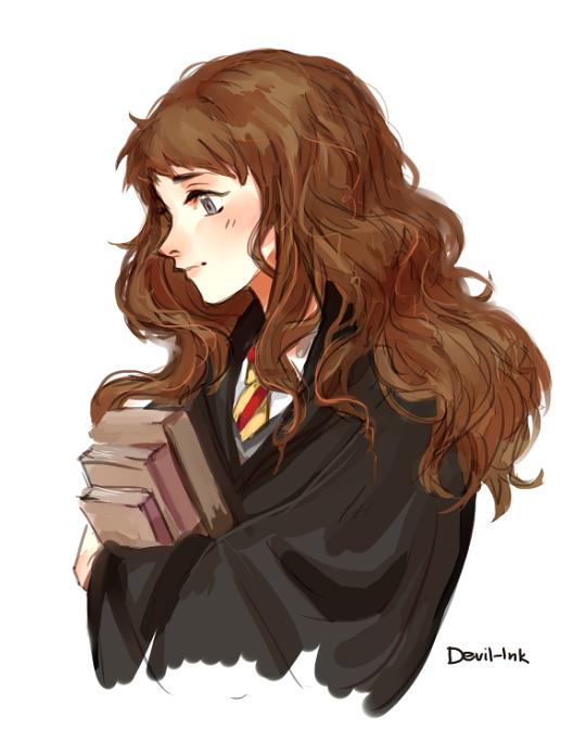 Image result for harry potter hermione fan art