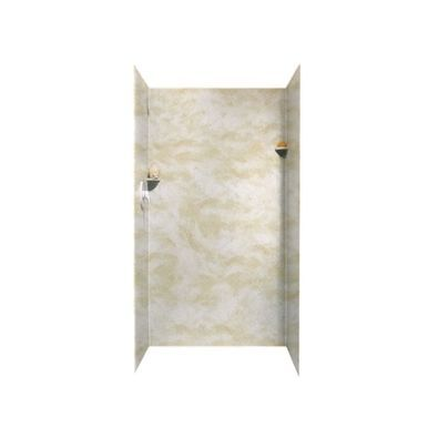 Swan Solid Surface 36 In X 36 In X 72 In Shower Wall Surround In