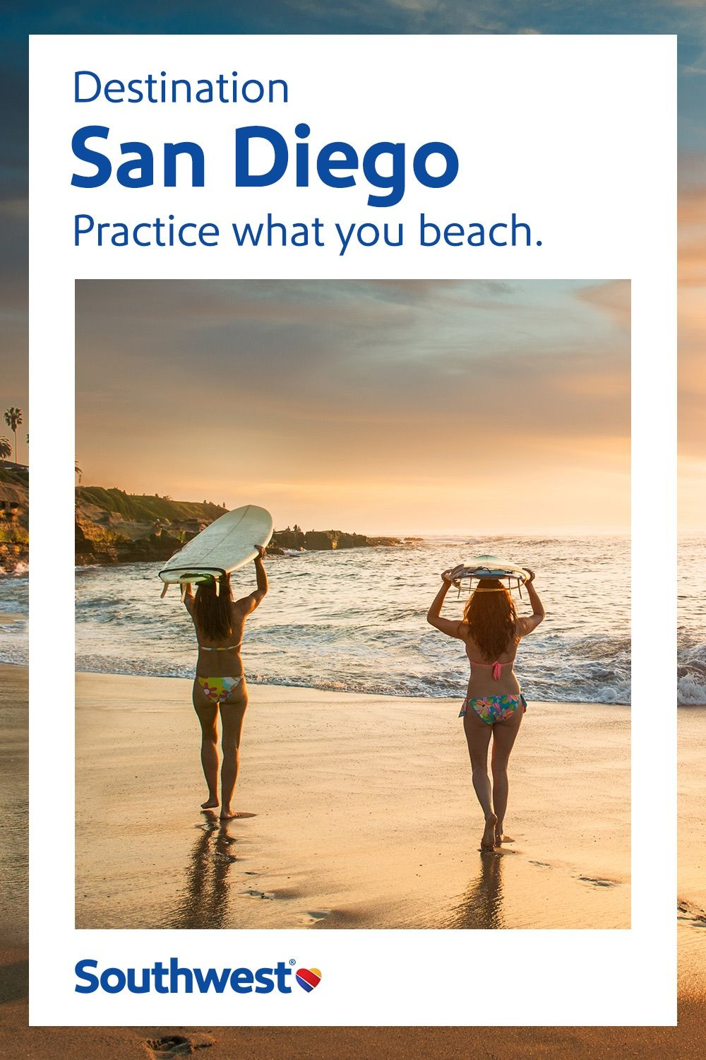 Discover san diego when you fly with southwest airlines