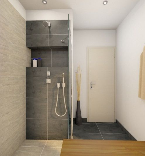 Kleines Dusch Bad Planen