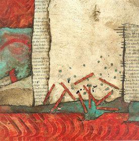 Collage art of Laura Lein-Svencner: BOGO November's #5 Tack Down Tuesday