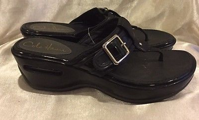 Cole Haan Black Nike Sandal Size 5.5  | eBay