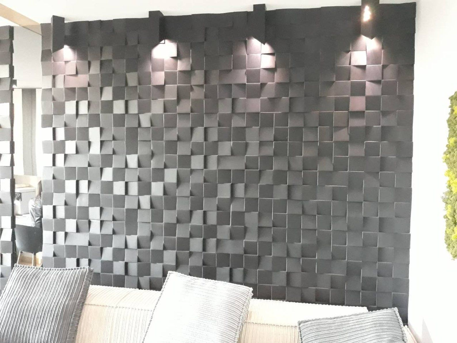 Plastic Mold 3d Wall Panels For Plaster Gypsum Or Concrete Etsy Wall Panel Molding Modern Wall Paneling Textured Wall Panels