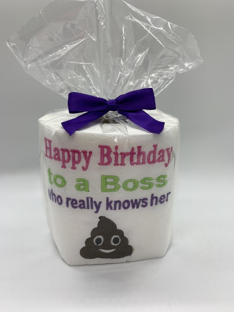 Female boss birthday office female birthdaygag gift fun