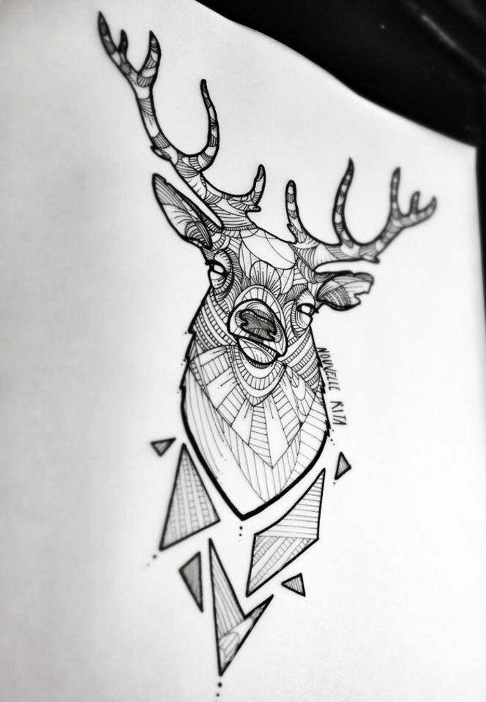 tatouages géométriques - belle idée ou tendance qui va s'évaporer