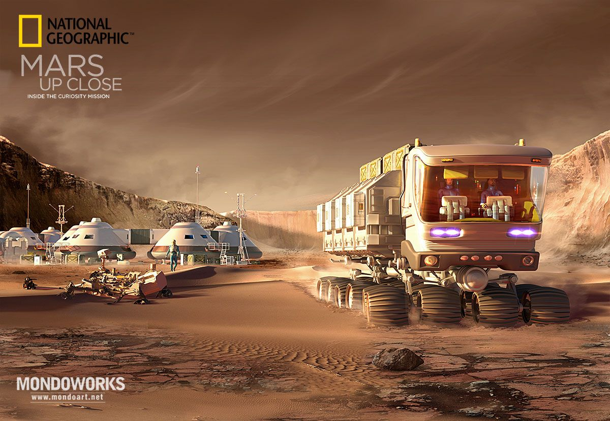 National Geographic - Mars Up Close: Inside the Curiosity ...