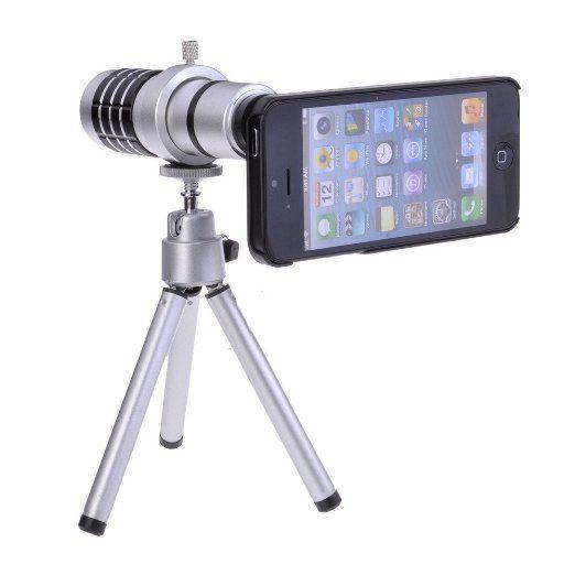12X Magnifier Zoom Aluminum Camera Telephoto Lens w