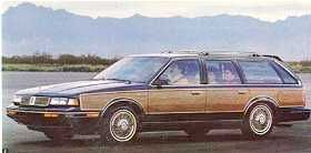 Oldsmobile Cutlass Cruiser Wagon 1988 Oldsmobile Cutlass Cruiser Station Wagon Station Wagon Oldsmobile Cutlass Oldsmobile