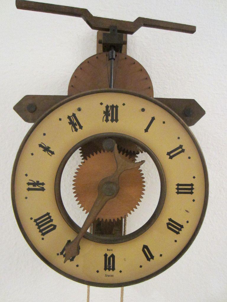 buco swiss pendulum clock metal walls wall clocks and clocks