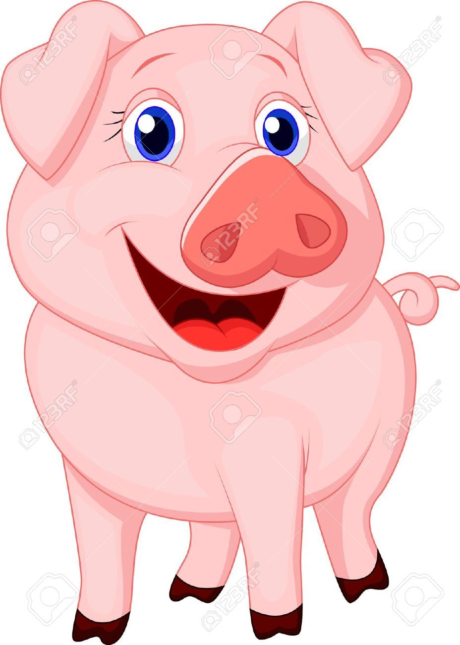 Pin By Michelle O Neill On Piggy Art Pig Cartoon Cartoon Drawings Of Animals Pig Art