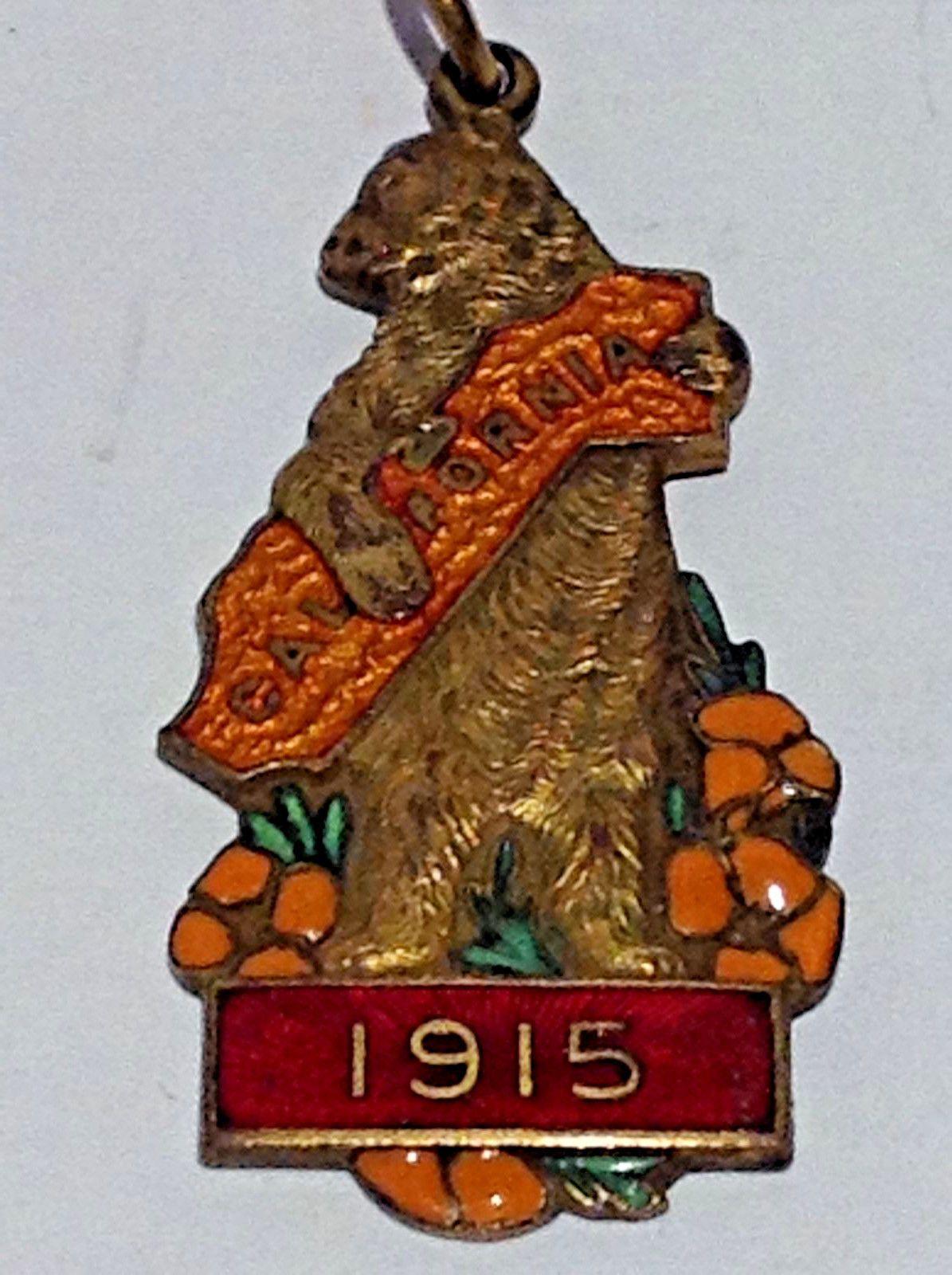 Souvenir Pendant California 1915 | eBay