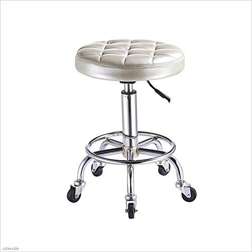 Admirable Mingteng Rolling Rotary Stool Pneumatic Work Chair Ibusinesslaw Wood Chair Design Ideas Ibusinesslaworg