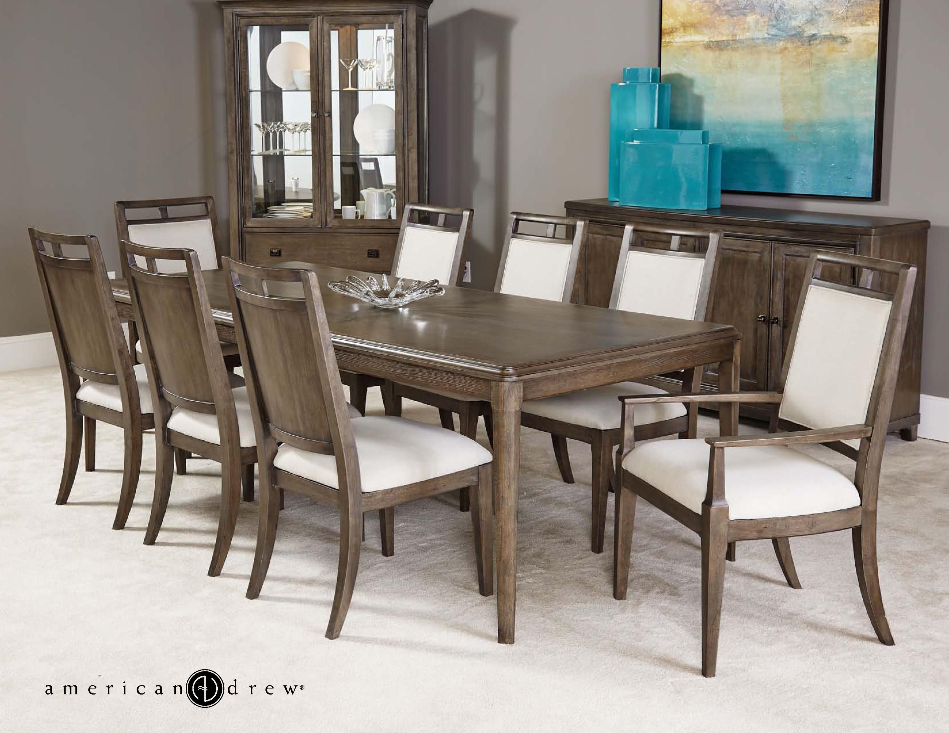 Park Studio 9 Piece Dining Set By American Drew Classic Dining