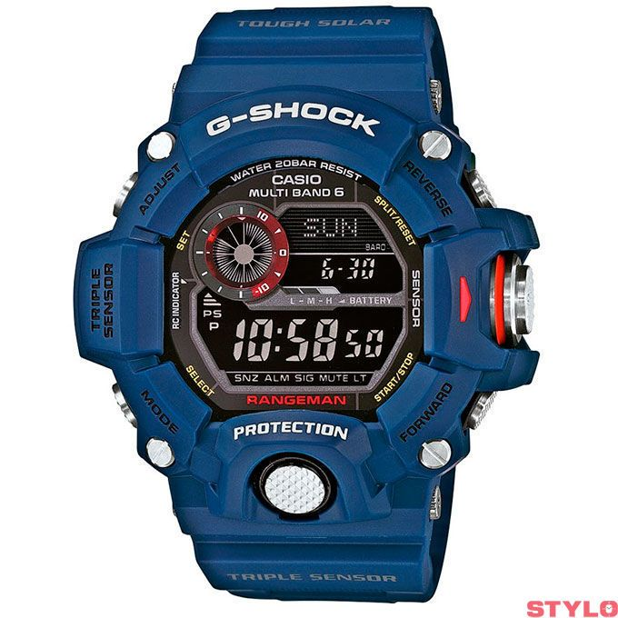 5c30be6b9626 Awesome new Limited Edition Casio G-Shock - Master of G - Navy Rangeman    Pre-Order Available Early May