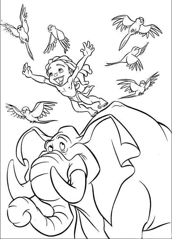 Tarzan Coloring Pages Best Coloring Pages For Kids Cartoon Coloring Pages Disney Coloring Pages Disney Quilt