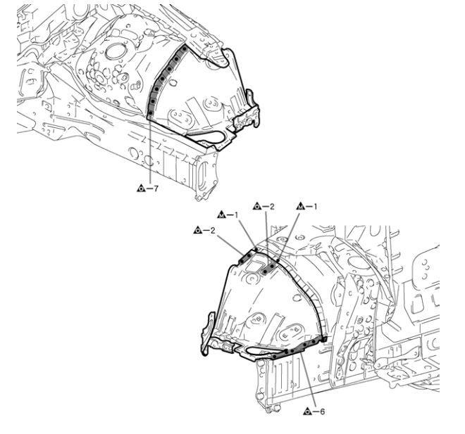 New post (Lexus IS250 / 220D 2005 Collision Repair Manual