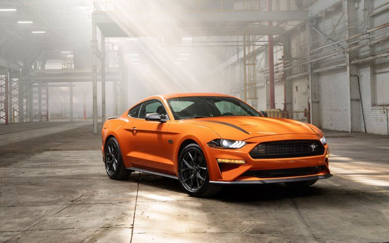 Desktop Wallpaper Ford Mustang Ecoboost High Performance Package 2020 5k Hd Image Picture Background 037788 Motor