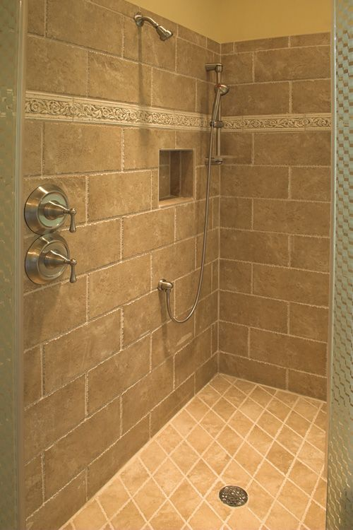 Bathroom Remodeling Ideas For Showers | Finished Bathroom. Added  Wainscoting On Wall. Installed New